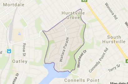 Hurstville Grove Sydney Map